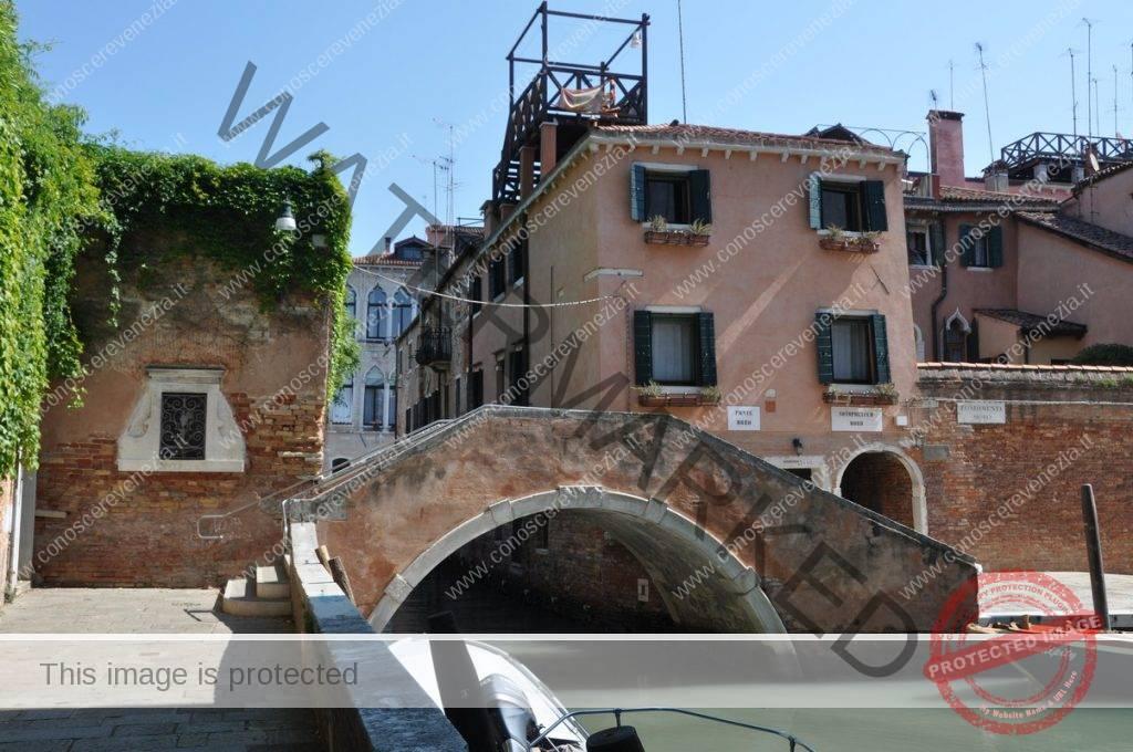 Fondamenta Grimani, Ponte Moro, Fondamenta Moro a Cannaregio
