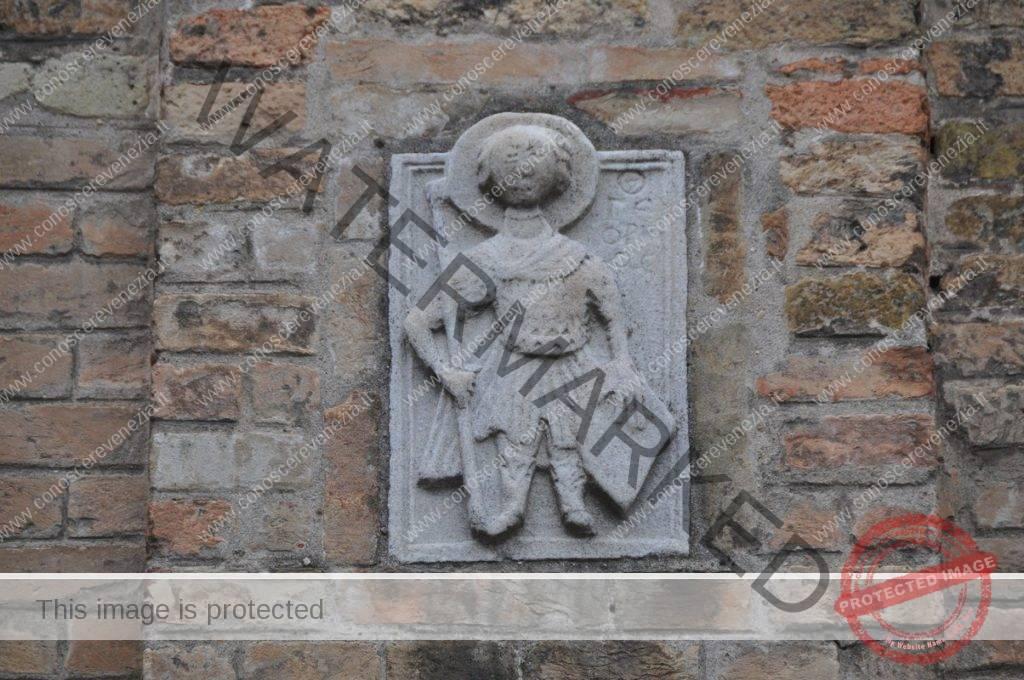 Campiello del Piovan, campanile - Santa Croce