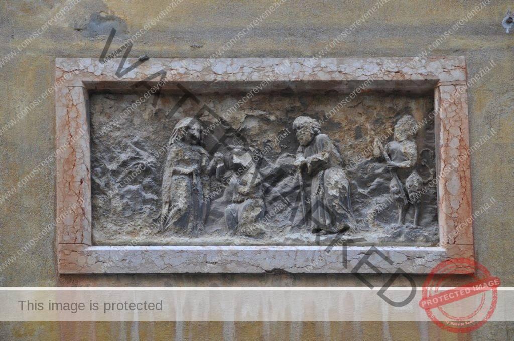 Campiello del Librer - San Polo. Episodi della vita di Sant'Antonio Abate