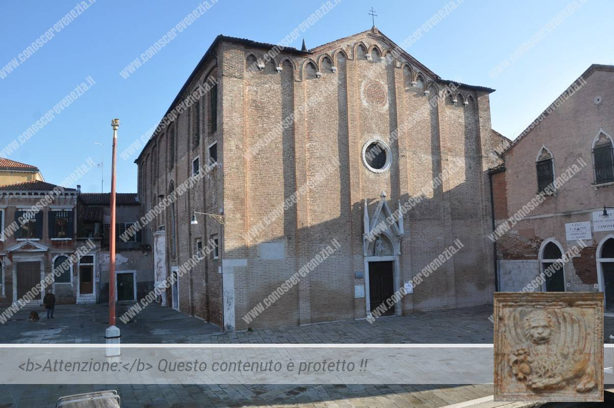 Piscina Sant Alvise Venezia.San Ludovico Da Tolosa Altorilievo Della Chiesa Di Sant Alvise