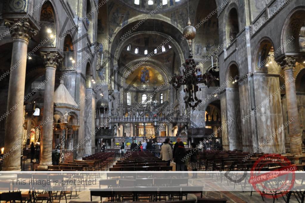 Basilica Di San Marco Interno Conoscere Venezia