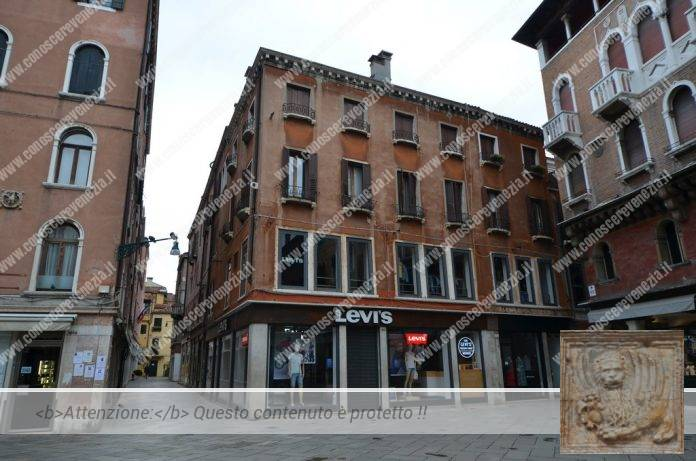 Campo San Luca cerso la Calle del Forno. Sestiere di San Marco