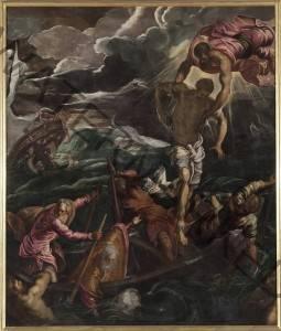 San Marco salva un saracenp dal naufracio  Jacopo Robusti detto Il Canaletto Gallerie dell Accademia