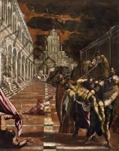 Trafugamento del corpo di san Marco   Jacopo Robusti detto Il Canaletto Gallerie dell Accademia