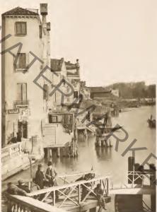 Il Bacino di San Marco dal Rio Terà  Garibaldi