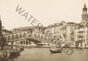 Il Canal Grande e il Ponte di Rialto