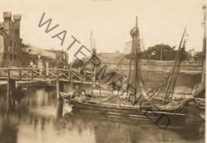 Il Rio de la Palada nell'Isola della Giudecca