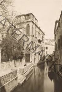 Il Rio de la Panada e il Palazzo Van Axel
