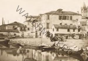 La Fondamenta de l'Arzere, a Santa Marta