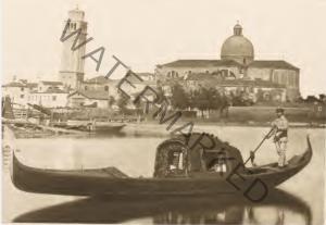 Una gondola nel bacino San Marco