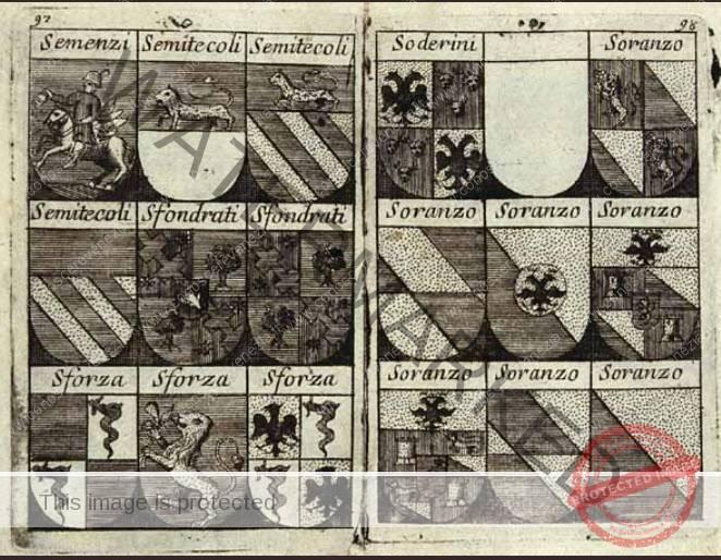 Semenzi - Semitecoli - Sfrondati - Sforza - Soderini - Soranzo